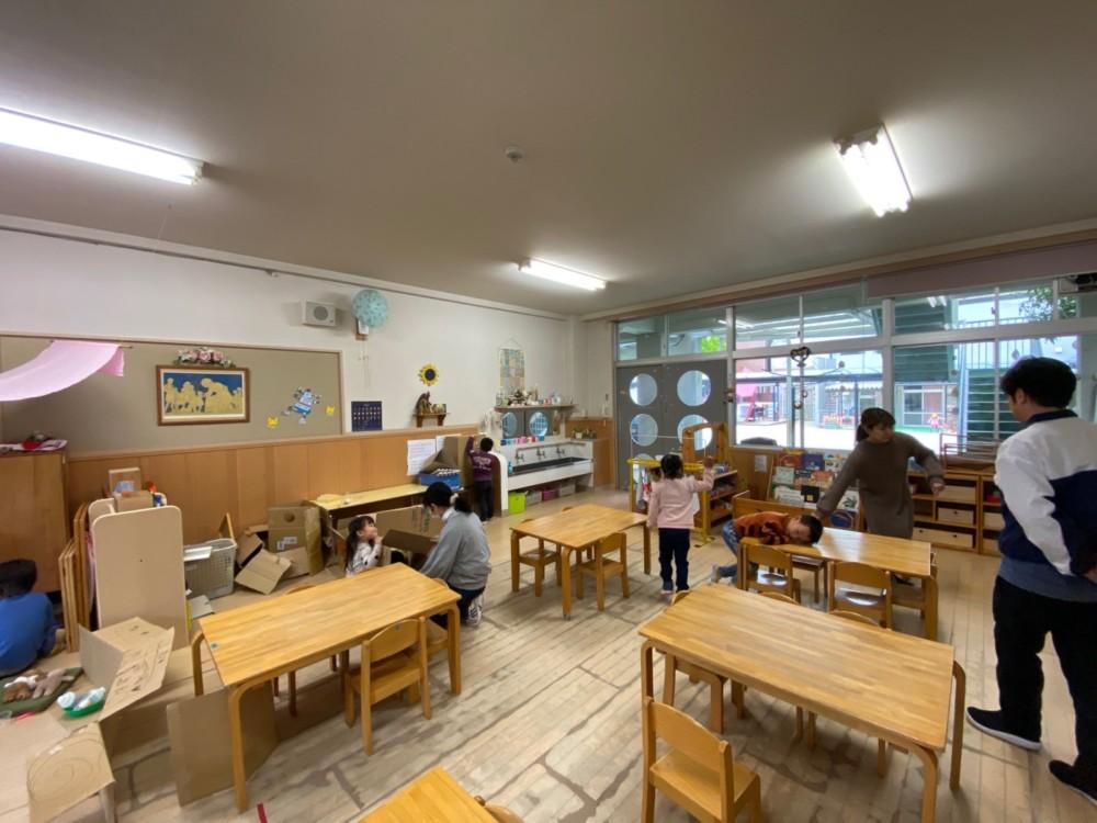 ひかりの子幼稚園 改装工事