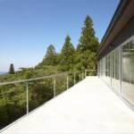 六甲山頂の家